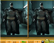 Batman spot the difference 3D j�t�kok j�t�kok ingyen