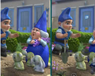Gnomeo and Juliet spot the difference k�l�nbs�g keres� j�t�kok